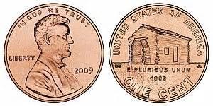 commemorative lincoln bicentennial cents program
