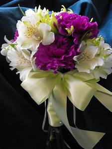 Green Spider Mum & Purple Carnation Bouquet: A Night in ...