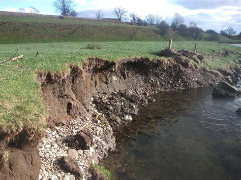 how is sand that flows in a river formed malham the river aire and other water features