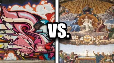 Graffiti Vs :  Bigger Than The Renaissance
