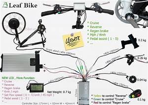 20 Inch 48v    52v 1000w Front Hub Motor Electric Bike