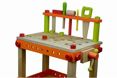 Bench Wooden Tool Diy Children Play Learning
