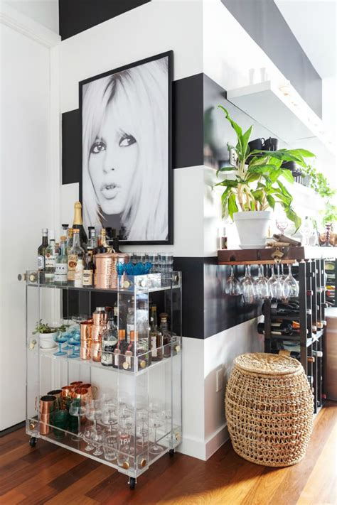 Home Bar Apartment by Small And Stylish Apartment In Decoholic