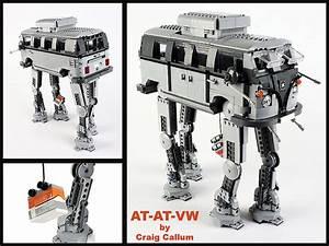 AT-AT-VW, LEGO Mashup of an AT-AT Walker From 'Star Wars ...