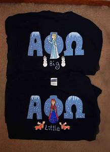 aphio big little frozen themed letters apo With disney greek letter shirts