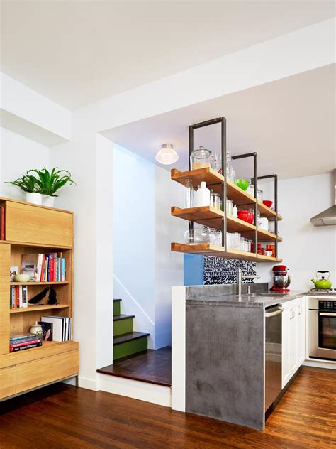 kitchen island shelves 15 design ideas for kitchens without cabinets