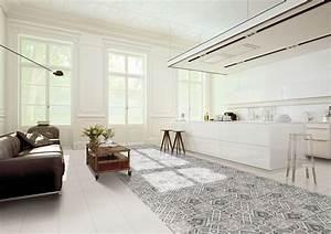 Carreaux De Ciment Adhesif Sol : cuisine avec carreaux de ciment ~ Premium-room.com Idées de Décoration