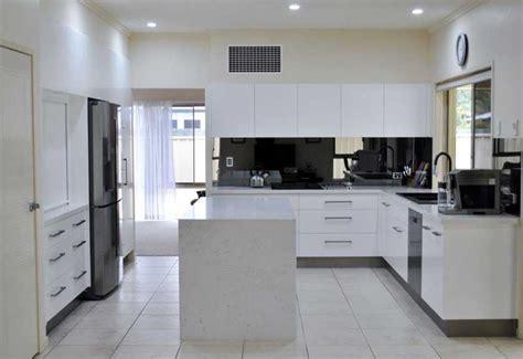 kitchen cabinets renovation expansive white kitchen design kitchen renovation brisbane 3204