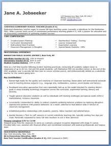 elementary education resume exle elementary school resume sles free creative resume design templates word