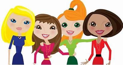 Clipart Friends Girlfriend Power Female Social Lit