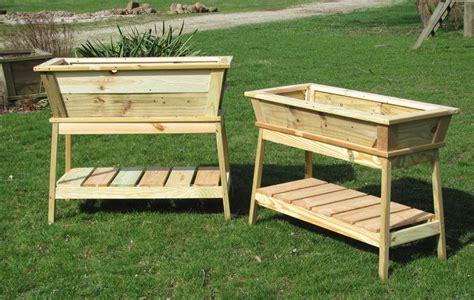 wooden garden boxes easy pallet garden box tips for organizing your landscape