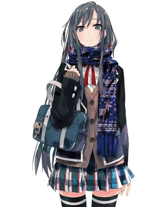 Love this anime girlu0026#39;s outfit | Animie | Pinterest | Miss america Snow and Cool anime girl