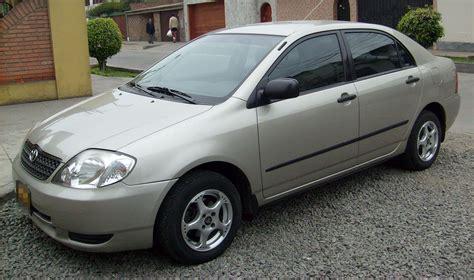 02 Toyota Corolla by Vendo Toyota Corolla 2002 Mecanico