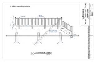 home building blueprints free 12 39 x 16 39 deck plan blueprint with pdf document