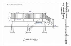 Free 12 U0026 39  X 16 U0026 39  Deck Plan Blueprint  With Pdf Document Download