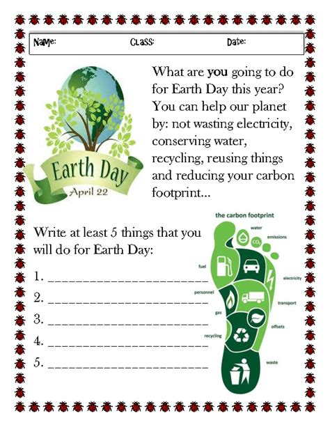 67 free earth day earth hour worksheets