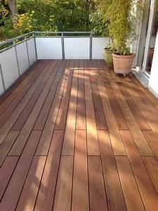 Holz Für Balkonboden : balkon in ipe holz terrassendielen holzterrassen hartholz ~ Markanthonyermac.com Haus und Dekorationen