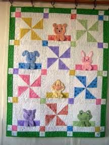 Baby Animals Applique Quilt Pattern