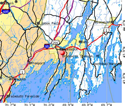 offenders in maine map brunswick station maine me 04011 profile population