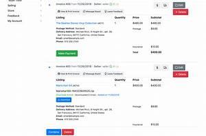 Combine Invoices / Listings / Documentation / PHP Pro Bid