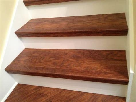 pergo flooring for steps highland hickory pergo on stairs try diy pinterest stairs laminate stairs and moldings