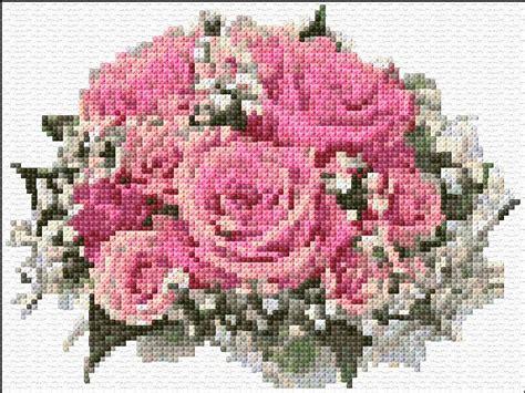 Cross Stitch Rose, Cross