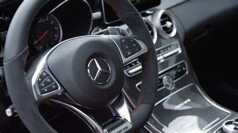 The new c63 is here! 2015 Mercedes C63 AMG - INTERIOR - YouTube