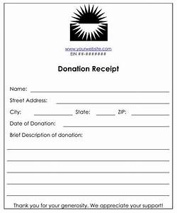 6 cash or funds donation receipt templates word templates With receipt of funds template