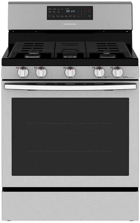 samsung  freestanding gas range nxr spencers tv appliances