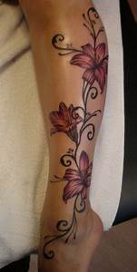 Tattoo Blumenranke Arm : 25 best ideas about lily flower tattoos on pinterest lily tattoo design lilies tattoo and ~ Frokenaadalensverden.com Haus und Dekorationen