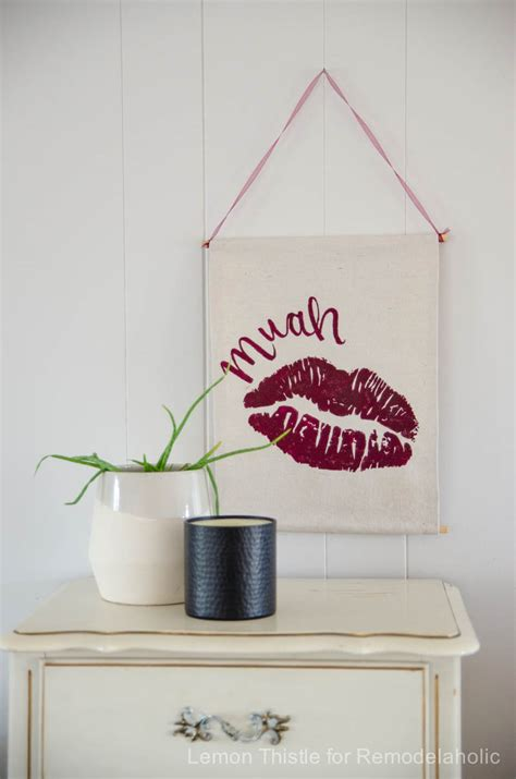 remodelaholic diy valentine s day wall hanging