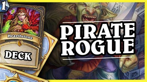 un goro pirate rogue hearthstone decks