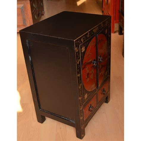 meuble noir laque pas cher meuble laqu 233 noir la d asie