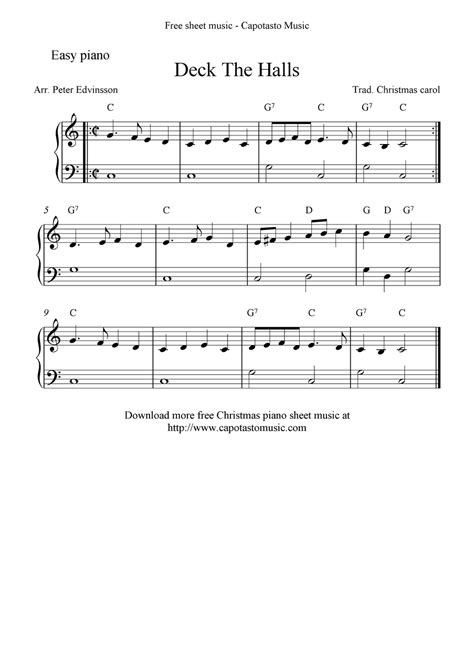 deck the halls sheet music pdf deck design and ideas