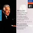 Mozart: Great Piano Concertos by Vladimir Ashkenazy | CD ...
