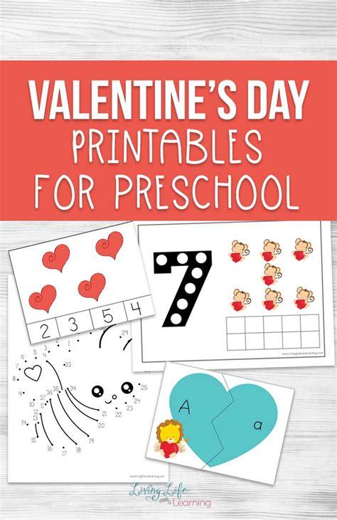 Valentine's Day Printables for Preschool