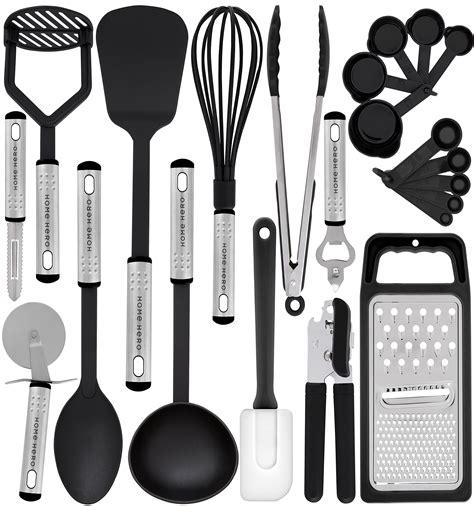 gift kitchen utensils utensil cooking amazon spatula gadgets starter tool spice simply organic cookware nylon food gourmet homehero