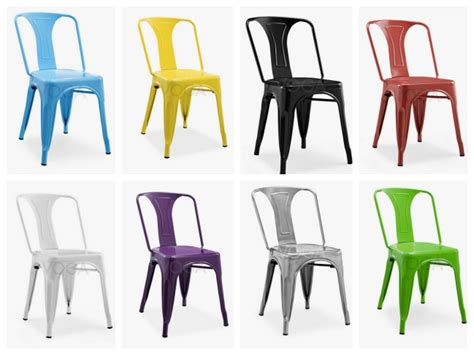 chaises tolix pas cher 20 chaises design à moins de 100 euros déco clem