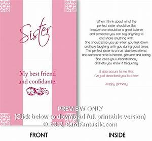 5 Best Images of Sister Birthday Cards To Print Free ...