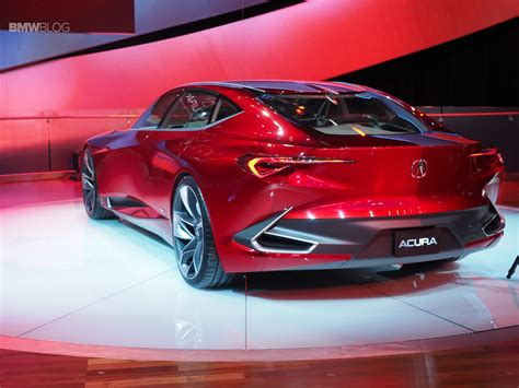 cool concept debuted  detroit acura precision