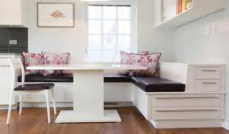 Upholstered Bench Dining Table