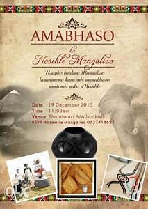 xhosa traditional wedding invitation wording matik for With sotho traditional wedding invitations