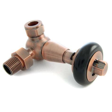 faringdon thermostatic radiator valve antique copper corner trv radiator valves