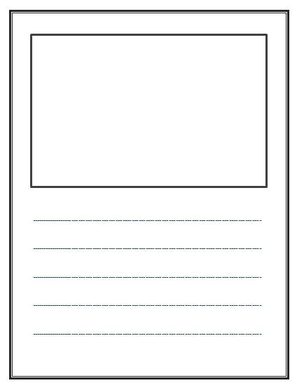 story book template lined writing paper free lined writing templates readyteacher