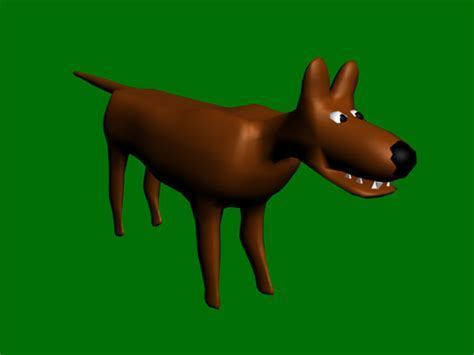 Cartoon wolf 3d model 3ds max files free download