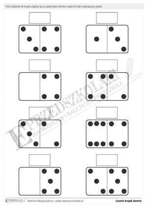 domino zwierzeta  wydruku pcmigtool