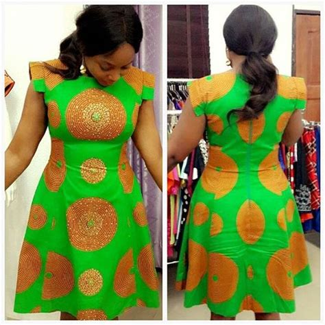 10  Ankara Styles Gown 2016 : Beautiful Short Gown For Party