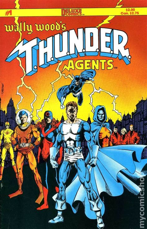 wally woods thunder agents  comic books