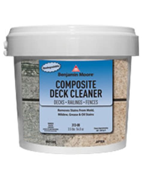 Trex Deck Cleaner by Benjamin Paint Available At California Paint Company
