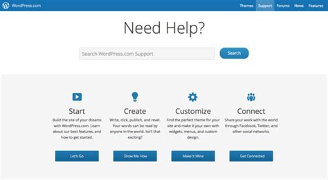 website design help get started support